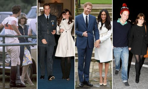 Royal couples & where they went on their first date