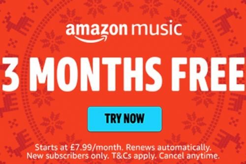 Get 3 months of Amazon Music Unlimited absolutely free