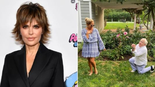 RHOBH's Lisa Rinna wants a threesome with Leslie Jordan and Katie Couric