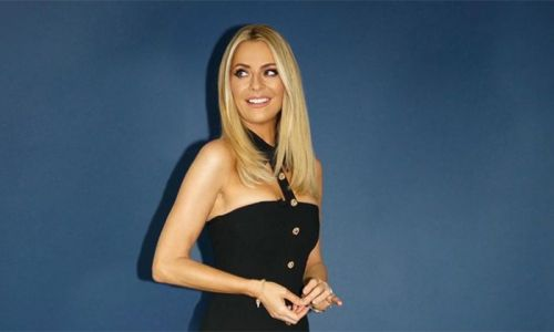 Strictly's Tess Daly drops jaws in £1,280 black midi dress