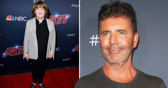 Simon Cowell reunites with Susan Boyle for America's Got Talent live shows