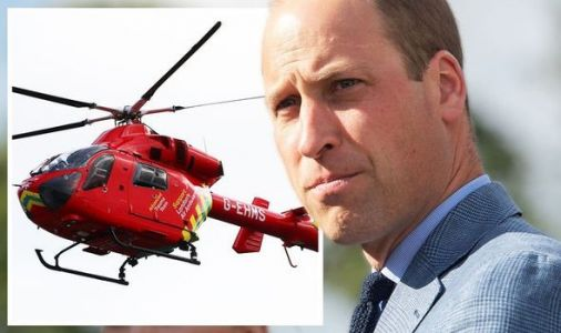 Prince William speaks of seeing world in 'darker place' after air ambulance work