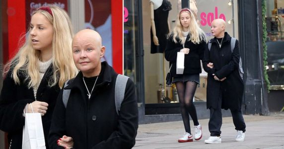 Gail Porter's daughter Honey is spitting image of mum as they're pictured braving Boxing Day sales