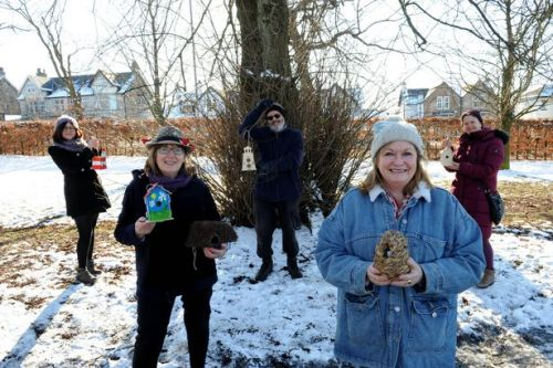 Barshaw Park nature project helps folk bring birds to their gardens