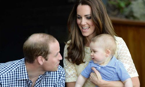 Kate Middleton reveals mishap that happened after Prince George was born