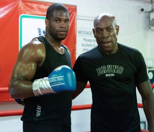 Frank Bruno urges Daniel Dubois to ignore the trolls and give them the silent treatment as Brit legend helps train prospect ahead of Nathan Gorman fight