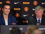 Robin van Persie reveals Sir Alex Ferguson called out Manchester United stars for partying in 2013