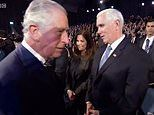 Prince Charles 'snubs' US Vice President Mike Pence while shaking officials' hands in Israel