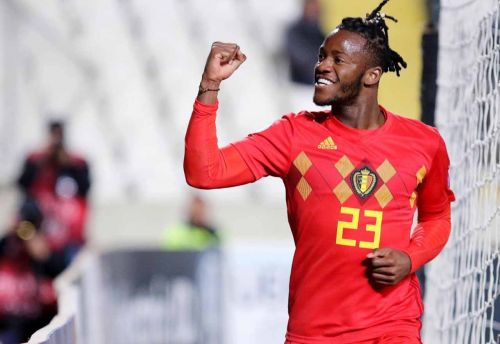 Video: Chelsea loanee Batshuayi bags for Belgium after rounding Cypriot goalkeeper