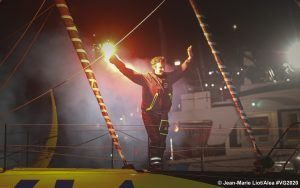 Around the world in 80 days - Dalin first over the line in Vendée Globe