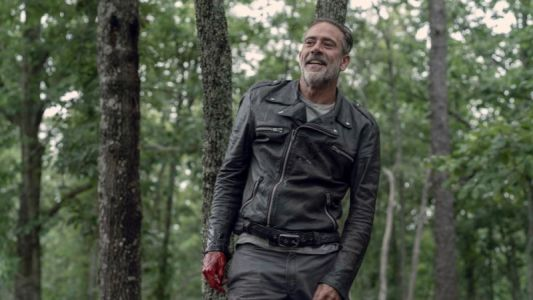 Negan Has an Awkward Conversation in This Clip From The Walking Dead's Season 10 Finale