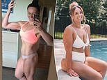 Fitness blogger shares candid six-year transformation snap of her gym-honed physique