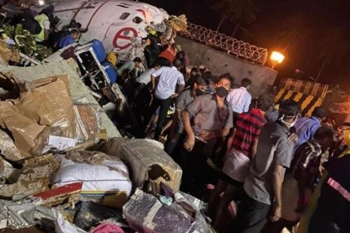 Girl, 3, rescued from crashed Air India jet with at least 17 dead