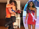 Former Miss Colombia shows off dance moves after amputating her left foot and part of her left leg