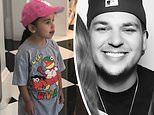 Rob Kardashian posts adorable picture of his daughter Dream, 3, in a LA Dodgers baseball hat