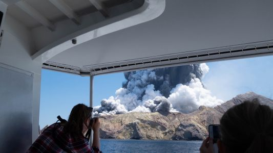 One dead and 'likely to be more' after sudden volcanic eruption in New Zealand