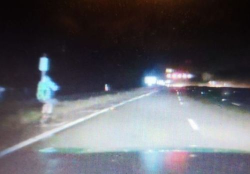 E-scooter rider stopped driving up M1 with no lights in 'pitch black'