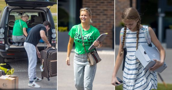 Kerry Katona takes Katie Price's daughter Princess on holiday while Harvey is in intensive care