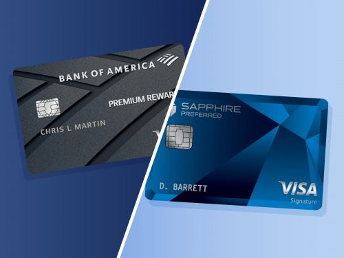 Credit card face-off: Bank of America Premium Rewards vs. the Chase Sapphire Preferred