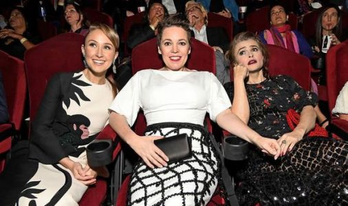 The Crown stars kick back at LA's famous Chinese Theatre