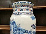Cracks cost vase owners £685k: Rare Chinese ornament could be worth £700k