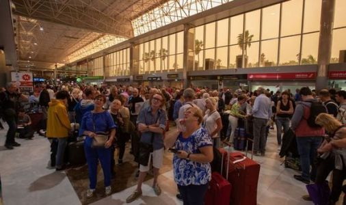Canary Islands horror: Thousands of Brits in bleak wait to get home after terror sandstorm