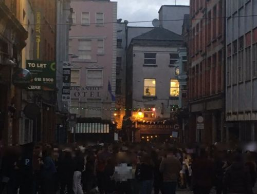 Coronavirus in Ireland LIVE - No new Covid deaths recorded as scenes of crowds of drinkers in Dublin 'utterly condemned'