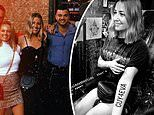 Jules Sebastian gets a tattoo as an early birthday gift to herself in NYC