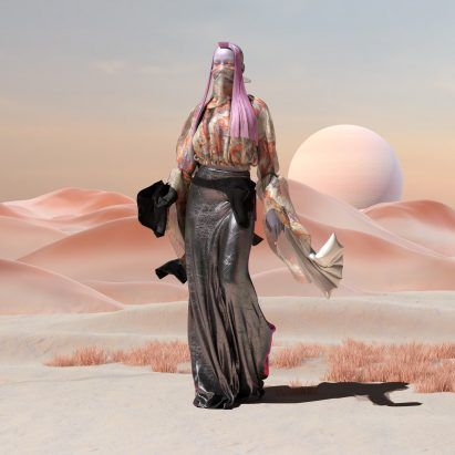"""Virtual fashion will allow people to """"go completely crazy"""" online says Amber Jae Slooten of The Fabricant"""