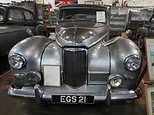 Classic car collector puts Queen Mother's vintage Humber car up for sale with rest of £250k fleet