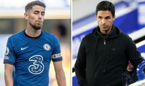 Arsenal weighing up bid for Chelsea star Jorginho as Thomas Partey transfer alternative