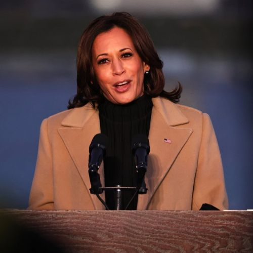 Kamala Harris picked a Pyer Moss coat for poignant COVID-19 memorial