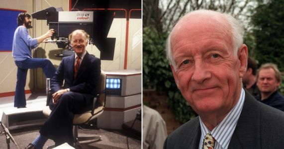 Former Grandstand presenter Frank Bough dies in care home aged 87