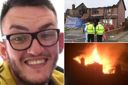 Man killed in house fire had been stabbed in heart on night of blaze