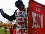 Christian banned from displaying banner proclaiming his beliefs vows to take his challenge to court