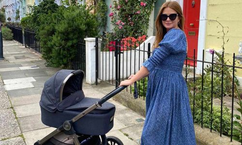 Millie Mackintosh has the coolest disco baby gym for Sienna - and it's from John Lewis