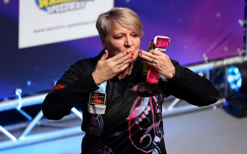 Lisa Ashton makes darts history by becoming first woman to win a place on PDC Pro Tour