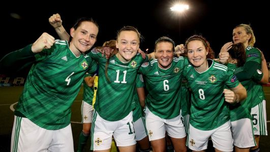 'Anything is possible': Northern Ireland heroes hope run to Women's Euro 2022 play-off can inspire future stars