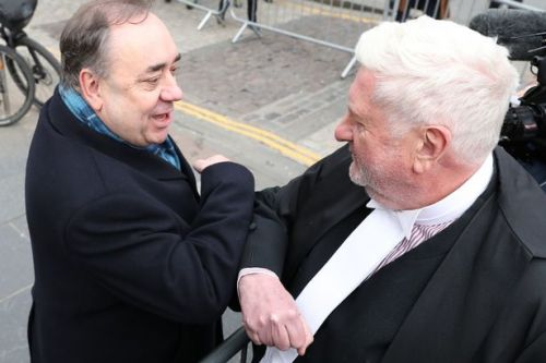 Alex Salmond's QC refers himself to legal watchdog after naming women accusers