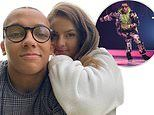 Perri Kiely dating Dancing On Ice production assistant Laura Smith after meeting backstage on the show