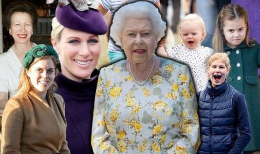 Queen tribute: What touching honour to the Queen was paid by these SEVEN royals?