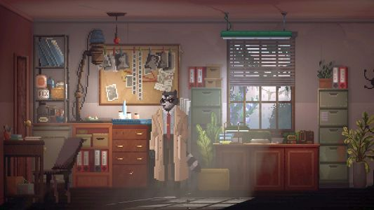 Making it in Unreal: trash-hungry raccoons and 2.5D noir adventure Backbone