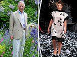 Prince Charles 'makes his fashion debut' at London Fashion Week as designers show nettle collection