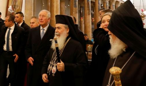 Prince Charles praises peaceful coexistence of Muslims and Christians in Bethlehem visit