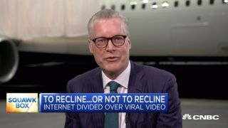 Airline CEO Nose-Dives Into the Seat Reclining Debate