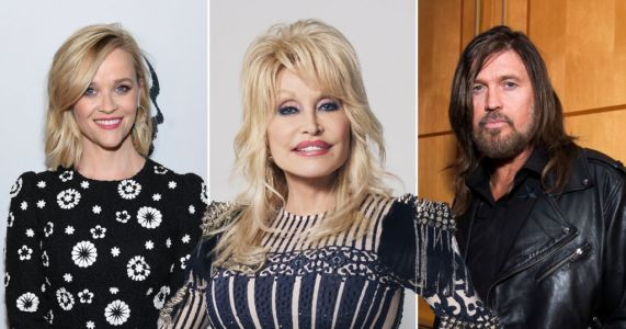 Reese Witherspoon and Billy Ray Cyrus lead stars celebrating Dolly Parton on her 75th birthday