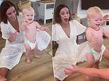 Hi-5 star Lauren Brant shares the adorable moment her son Houston walks for the first time