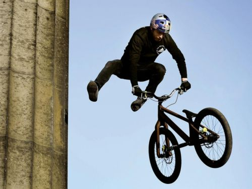 Danny MacAskill on a decade cycling to the top