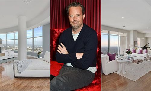 Matthew Perry slashes £6million off price of his breathtaking LA penthouse - see inside