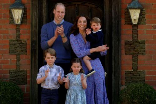 Kate Middleton and Prince William share new photo of Prince Louis on birthday
